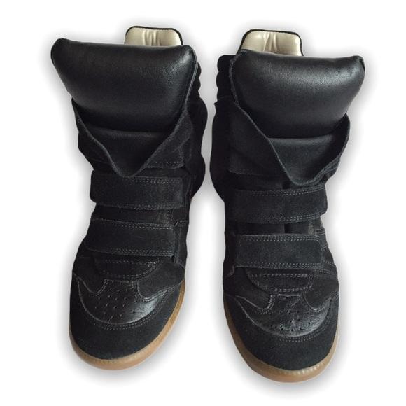 Isabel Marant Shoes - Isabel Marant Wedge Sneakers Size 38